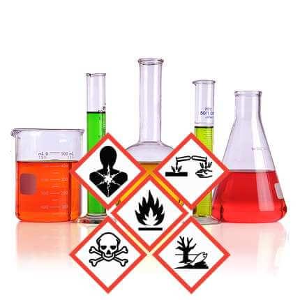 Echéancier mise en conformité étiquetage GHS aux États-Unis
