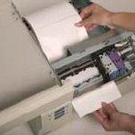 Passage du papier sur Cab LX 800 couleur