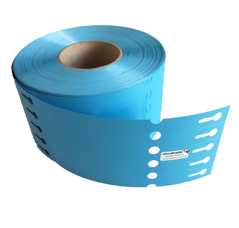 etiquette boucle horticole bleu