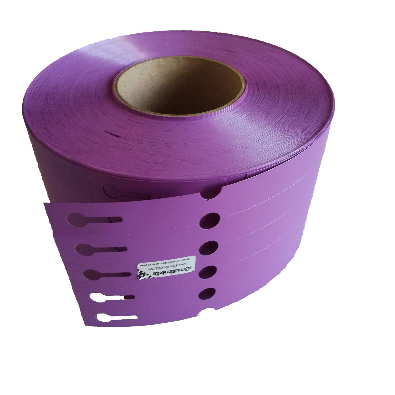 etiquette boucle horticole violette