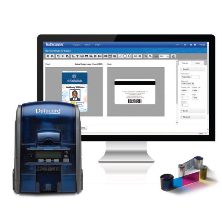 Imprimante badge SD 160 plus datacard