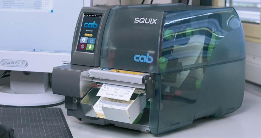 Imprimante thermique CAB SQUIX 300 dpi