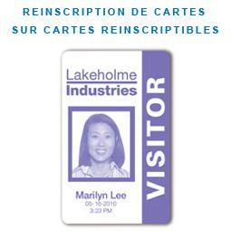 Imprimante badge SP25 plus datacard