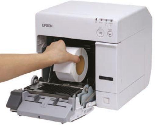 imprimante etiquette couleur epson tm c3400
