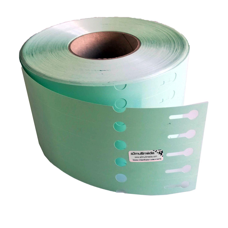 etiquette boucle horticole verte
