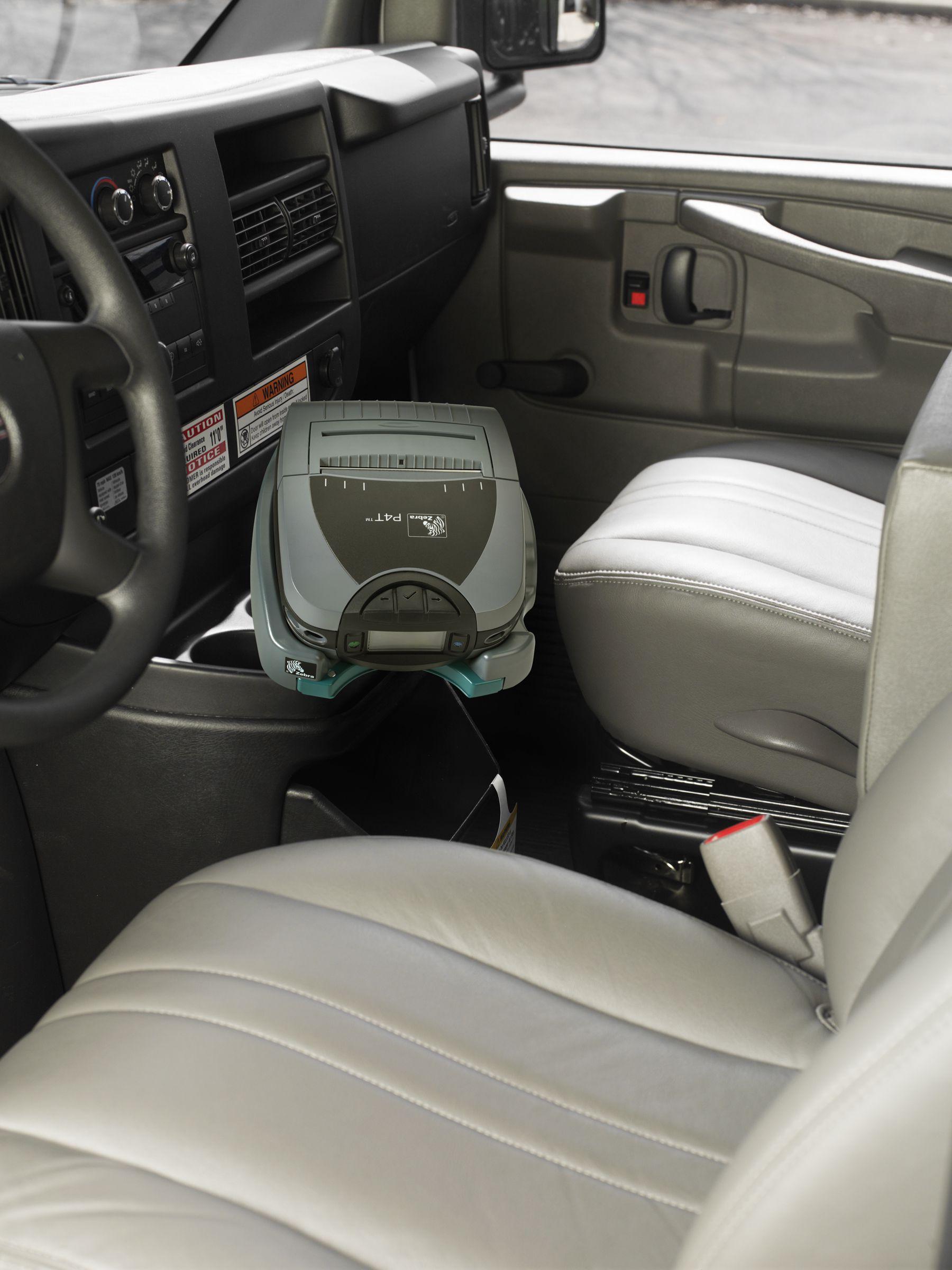 support vehicule zebra P4T