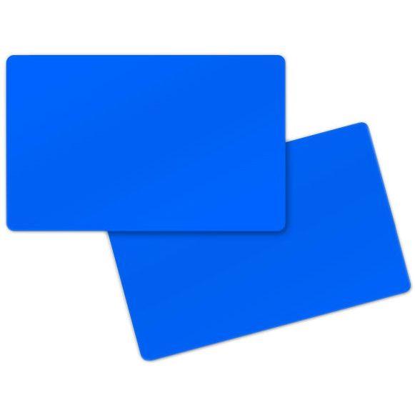 carte badge bleu foncé