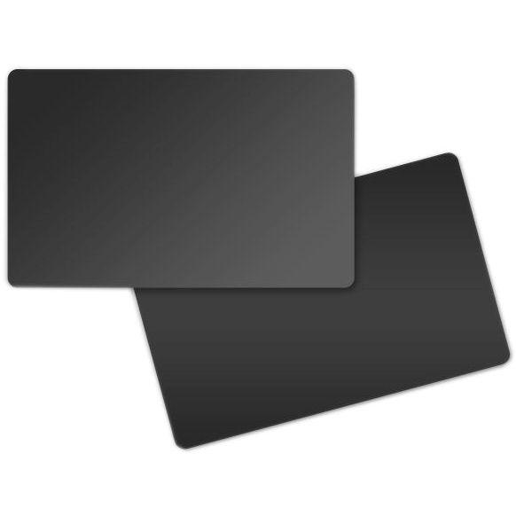 carte badge pvc noir