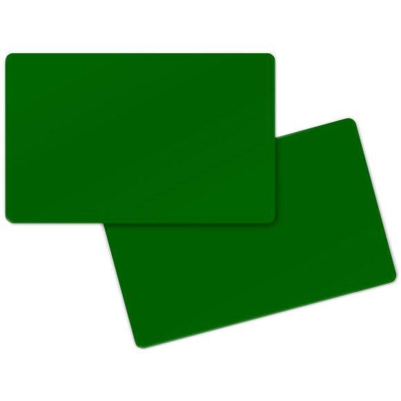 carte pvc vert badges
