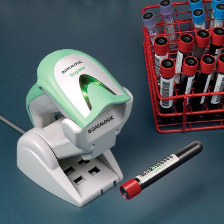 lecteur code barre gryphon GBT4100 medical