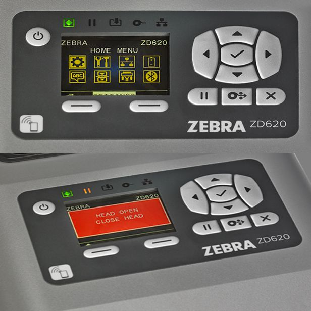 impirmante zebra zd620 healthcare