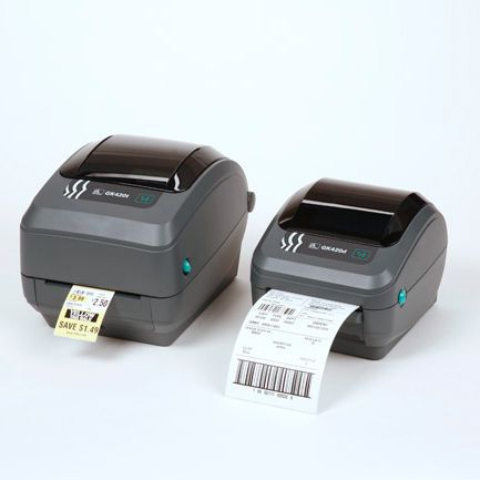 imprimante etiquette zebra gk420t et gk420d