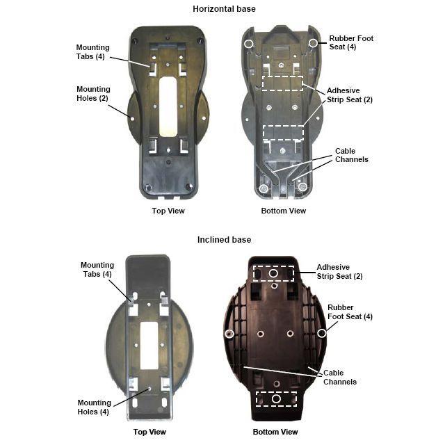 Kit de montage pour base BC-8000