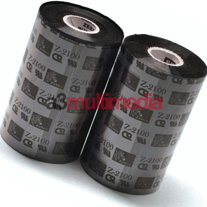 Ruban zebra cire imprimante 105SL 2100