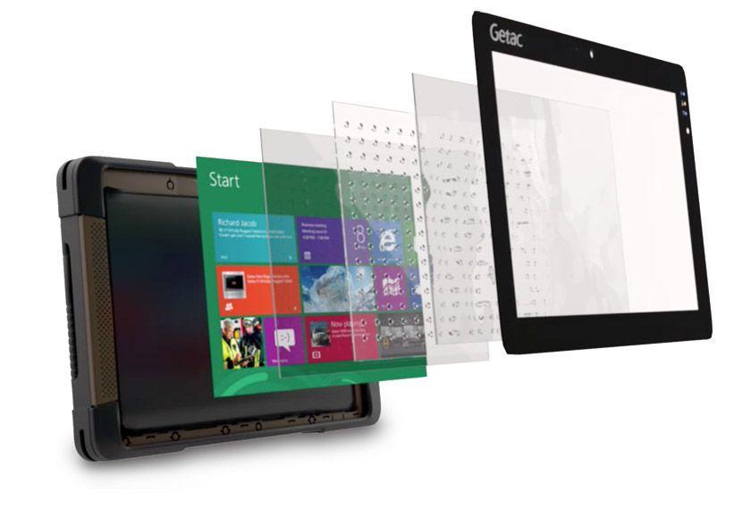 Tablette durcie Getac T800 windows