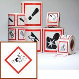 etiquettes stickers clp pictogramme EX SGH01