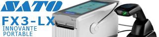 Imprimante portable Sato FX3-LX