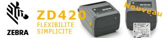 Imprimantes Zebra ZD420