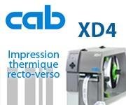 Imprimante recto verso XD4 CAB