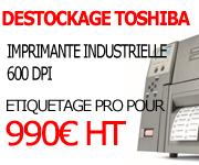 promo imprimante 600dpi toshiba