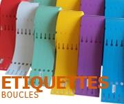 Etiquettes Horticulture boucle