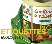 Etiquettes ecologique biodégradable