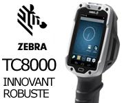 Terminal android Zebra TC8000