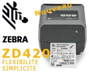 Imprimante de bureau Zebra ZD420