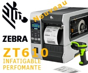 Imprimante industrielle Zevra ZT610